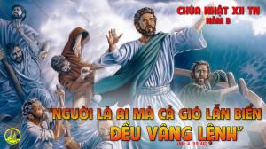 CÁC BÀI SUY NIỆM LỜI CHÚA  CHÚA NHẬT XII THƯỜNG NIÊN-B