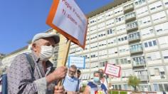 Những người vô gia cư Roma đến bệnh viện thăm ĐTC