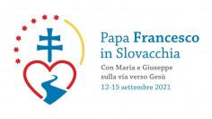 Chủ đề và logo chuyến viếng thăm của Đức Thánh Cha tại Slovakia