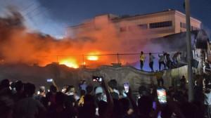 ĐTC cầu nguyện cho các nạn nhân của đám cháy ở Iraq