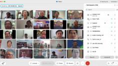 Cuộc gặp gỡ trực tuyến Linh mục đoàn Giáo phận Phú Cường