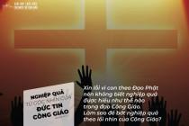 Nghiệp quả từ góc nhìn của đức tin Công giáo
