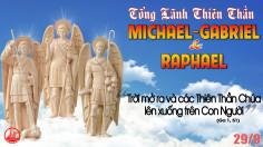 29.9.2021 – Thứ Tư Tuần XXVI Thường Niên – Các Tổng Lãnh Thiên Thần Michael, Gabriel, Raphael