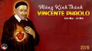 27.9.2021 – Thứ Hai Tuần XXVI Thường Niên - Thánh Vinh Sơn Phaolô, Linh Mục