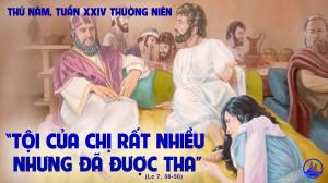 16.9.2021 – Thứ Năm Tuần XXIV Thường Niên