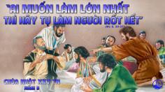 CÁC BÀI SUY NIỆM LỜI CHÚA CHÚA NHẬT XXV THƯỜNG NIÊN-B