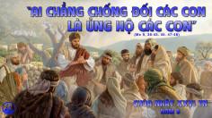 CÁC BÀI SUY NIỆM LỜI CHÚA CHÚA NHẬT XXVI THƯỜNG NIÊN-B