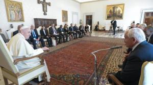 """ĐTC tiếp phái đoàn của """"Tổ chức các nhà Lãnh đạo vì Hòa bình"""""""