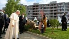 Đức Thánh Cha gặp cộng đồng người Rom tại Košice