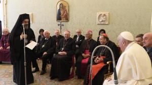 Đức Thánh cha tiếp các giám mục bạn của Phong trào Focolari, Tổ Ấm