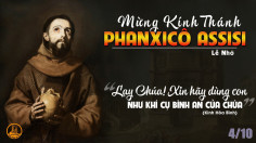 04.10.2021 – Thứ Hai Tuần XXVII – Thánh Phanxicô Assisi, Lễ Nhớ
