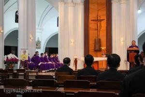 Đại Chủng Viện Thánh Giuse Sài Gòn: Lễ Giỗ mãn tang cha Bề trên Phaolô Lê Tấn Thành