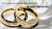 Các bí quyết của một hôn nhân hạnh phúc: 11 – Bí quyết điều ưu tiên