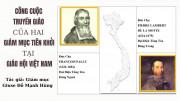 Công cuộc truyền giáo của hai Giám mục tiên khởi tại Giáo hội Việt Nam