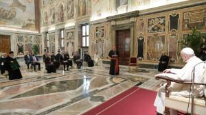 ĐTC tiếp nhóm làm việc hỗn hợp Chính Thống-Công giáo