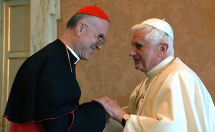 NEW SECRETARY OF STATE GREETS POPE
