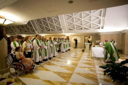 PopeFrancis-MassThursday07Nov2013
