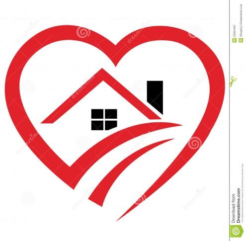 house-heart-logo-25354407