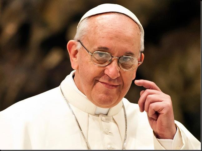 PopeFrancis-finger