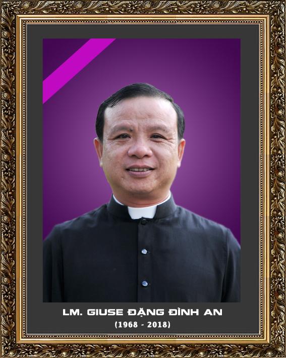 Cầu nguyện cho linh hồn Cha Giuse Đặng Đình An, Cha qua đời vì tai nạn giao thông